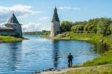 Fishing in the Velikaya