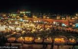 Djemaa El Fna by night, Marrakech