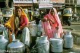 Milk vendors, Jaipur