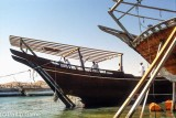 Traditional dhow-building yard at Sur, once a slave-trading port