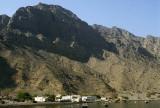 Isolated village, Khor Ash Sham, Musandam