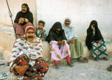 Women and girls near Khasab
