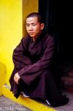 Buddhist monk, Saigon, Vietnam