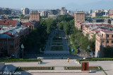 Looking down the Cascade, Yerevan