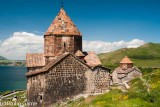 The ancient Sevanavank Monastery at Lake Sevan