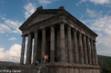 Restored Roman temple at Garni