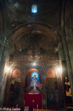Inside the Sevanavank Monastery chapel