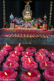 Candles at Wenshu Monastery