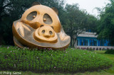 Panda Breeding Research Base on the northern edge of Chengdu