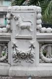 Detail of the Mahathai U Thit Bridge