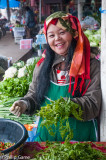 Market stallholder, Mae Hong Son, Thailand