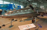 Bristol 188 experimental airplane built of stainless steel