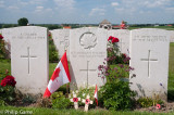 A Canadian, an Irish and one other casualty 'Known Unto God' at Tyne Cot Military Cemetery