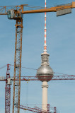 The Television Tower (Fernsehturm), once the showpiece of East Berlin