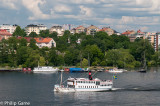 Excursion steamer on Lake Mälaren