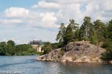 Approaching Drottningholm