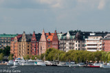 Kungsholmen area from the water