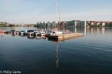 Early morning at the local marina