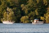 Water traffic on Lake Mälaren