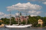 'Af Chapman' moored at Skeppsholmen