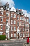 Distinctive older apartment blocks