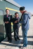 Boarding the Qinghai-Lhasa Railway
