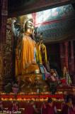Buddha effigy at the 'Lama' Temple