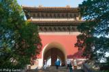 Ming Dynasty tomb outside Beijing