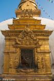 Gilded shrine