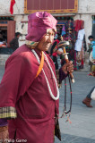 Pilgrims on the Barkhor circuit, Lhasa