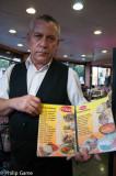 An eager communicator... Santiago de Chile