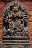 Effigy of the Hindu goddess Durga