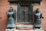 Palace gate, Durbar Square
