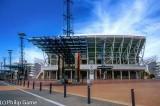 Stadium Australia in the Olympic precinct