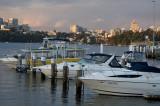 Harbour sunset from Balmain