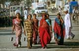 Street scene in Una, Saurashtra