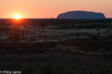 Sunrise over Uluru (Ayers Rock)