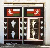 Omani household gates