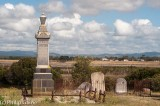 Pioneer cemetery out of town at Alberton