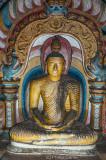 Buddha effigy, Dambulla