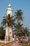 Lighthouse on the Bastion walls, Galle Fort