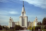 Lomonosov Moscow State University, founded 1755
