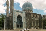 St Petersburg Mosque, modelled on the tomb of Tamerlane in Bukhara