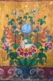 Painted panel at Tawang Gompa