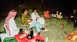 Christmas 1983: camping somewhere on the East Coast of the UAE