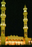 A mosque at night, Abu Dhabi