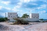 A traditional Arab fort, still manned, on the Ras al Khaimah (?) coast