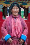 Old Monpa lady, Tawang
