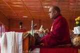 The 17th Karmapa Lama, a Tibetan lama revered as an incarnation of the Buddha
