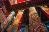 Inside the Dukhang prayer hall